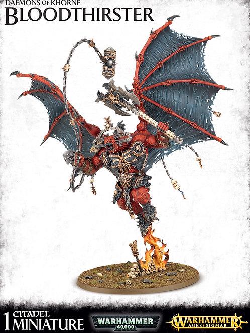 Daemons Of Khorne Bloodthirster / Skarbrand The Bloodthirster