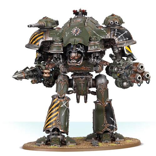 Knight Tyrant with Conflagration Cannon and Thundercoil Harpoon