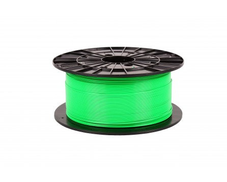 Filament 1,75 PLA - fluorescenční zelená 1 kg