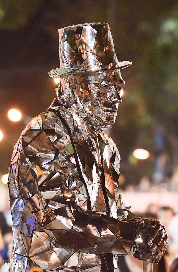 פסטיבל פסלים חיים - רחובות, 2016