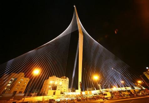 השקת גשר המיתרים ירושלים 2008