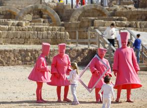 פסטיבל בחצר המלך הורדוס גן לאומי קיסרייה