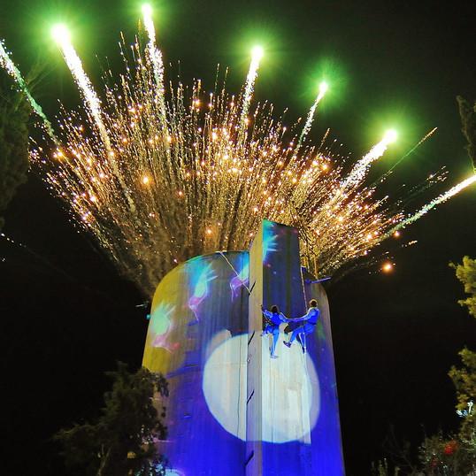 אירוע לציון 70 שנה להקמת 11 הנקודות בנגב, בני שמעון.