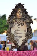 פסטיבל פסלים חיים - רחובות 2016