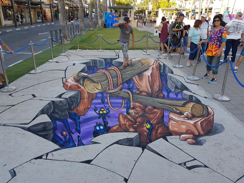 פסטיבל ציורי מדרכות - עפולה 2016