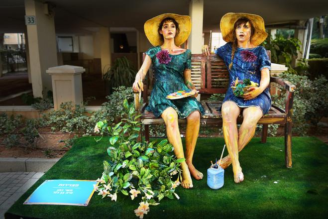 פסטבל פסלים חיים - רחובות 2017