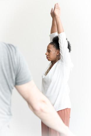 Bewegung stimmt die innere Ruhe mit Sandra Guerini