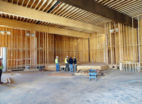 Tour the New Building as of March 31