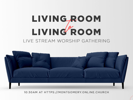 Live Stream Instructions for Sunday Worship Gatherings