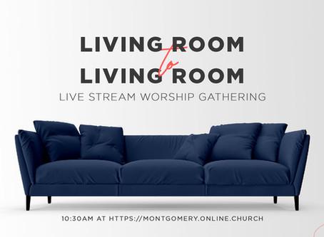 Live Stream Instructions for Sunday Worship Gatherings