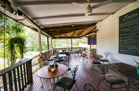 10 min from Jerrapark is Blue Knob Cafe and Gallery. Enjoy a cuppa or have lunch there