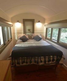 Jerrapark's train Carriages for a unique experience in the wild