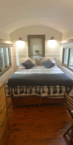 Jerrapark's Coolangatta bedroom accommodates a couple in 1 double bed