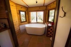 and bathtub