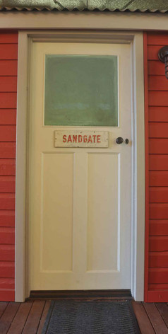 Jerrapark's Sandgate Station couchette carriage in the northern rivers
