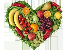 veggies heart