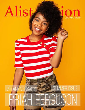 Priah Ferguson for Alist Nation August