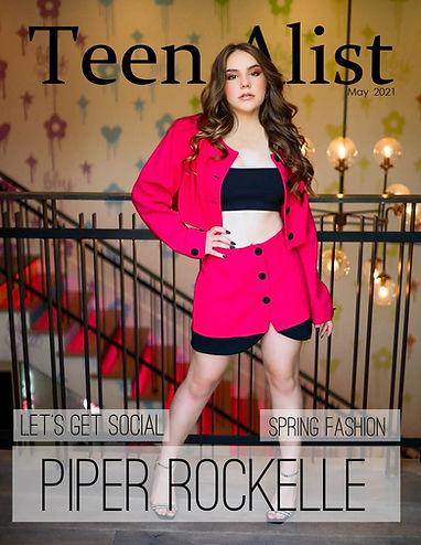 Piper Rockelle for Teen Alist Magazine