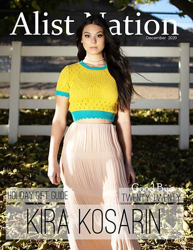 Kira Kosarin for Alist Nation