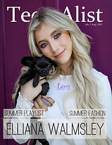 Elliana Walmsley TEEN A-list July 2021