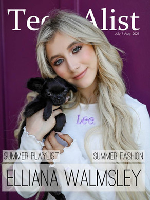 Elliana Walmsley for Teen A-list Magazine