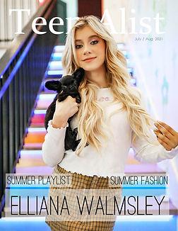 Elliana Walmsley TEEN Alist July 2021