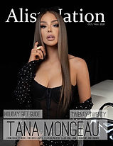 Tana Mongeau  for Alist Nation 2020 OCT