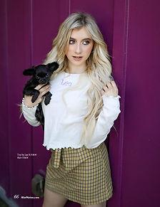Elliana Walmsley  for Teen Alist