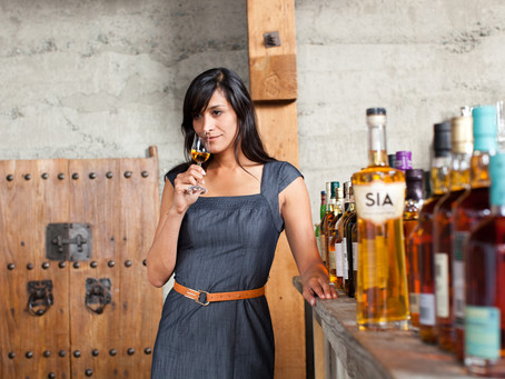 Scotch Whisky Made By A Women