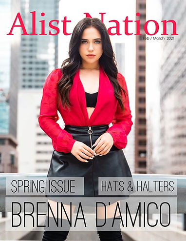 Alist Nation FEB  2021 Brenna D'Amico