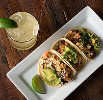 Tacos abd drinks Happy Hour