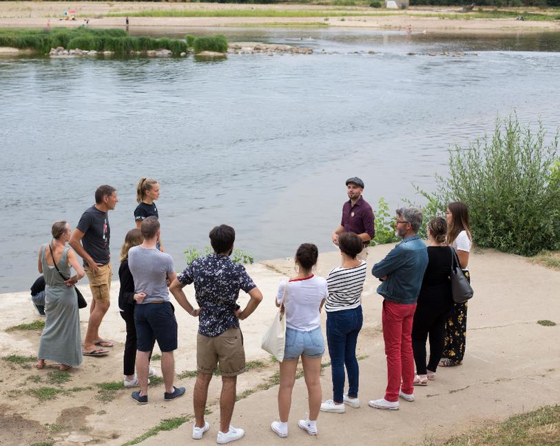 Dégustation sur les bords de Loire