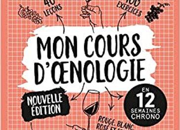 MON COURS D'OENOLOGIE