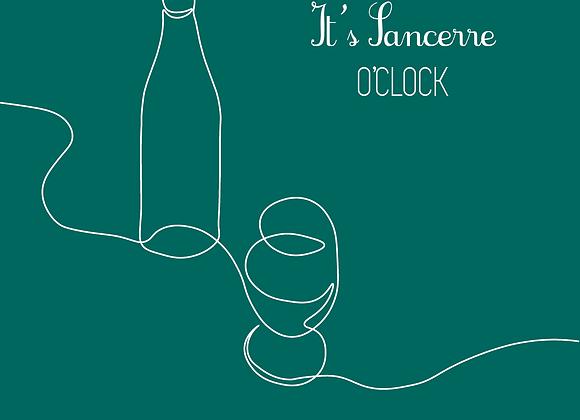 AFFICHE IT'S SANCERRE O'CLOCK