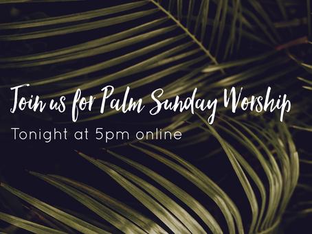 Beacon Online Worship Palm Sunday 4/5/20