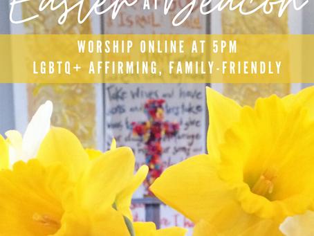 Easter Online Worship Outline 4/12/20
