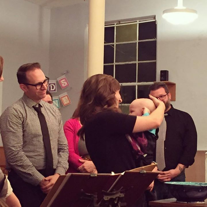 this whole pastor gig is pretty amazing sometimes. thanks to _srefsn1 for getting a pic of one of Sunday's baptisms