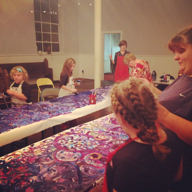 advent banner painting fall 2014.jpg