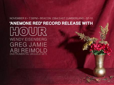 Record Release Show November 8