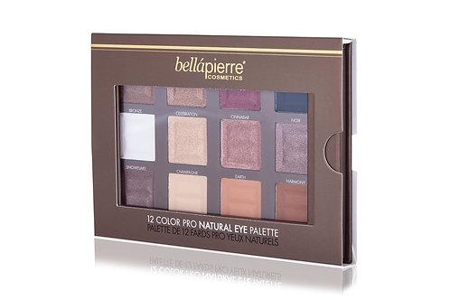 BELLAPIERRE- 12 Color Pro Eye Palette