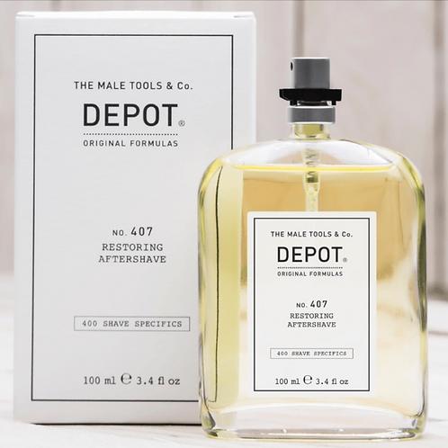 Depot 407 Restoring Aftershave 100ml
