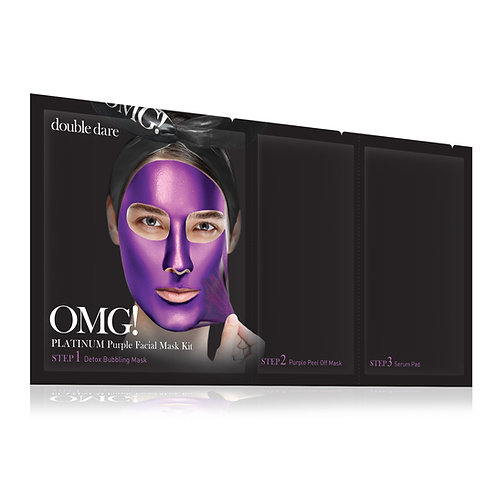 DOUBLE DARE OMG Facial Mask Kit