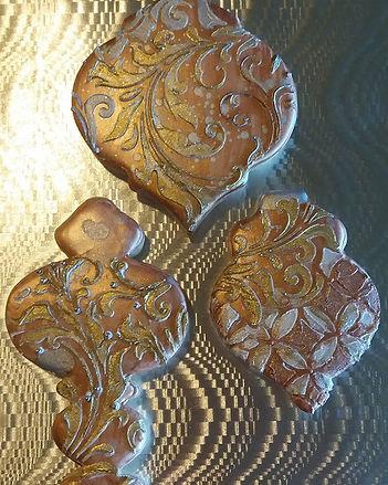 Glaze icing on vanilla shortbread_Www.to
