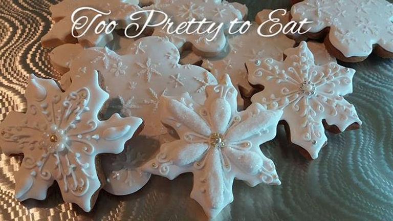Glaze icing on eggnog cookies_Www.toopre