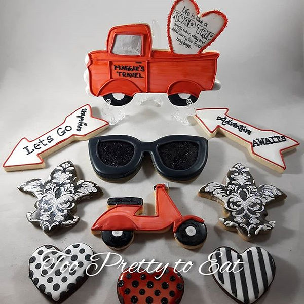 Let's hit the road with these scrumptiou