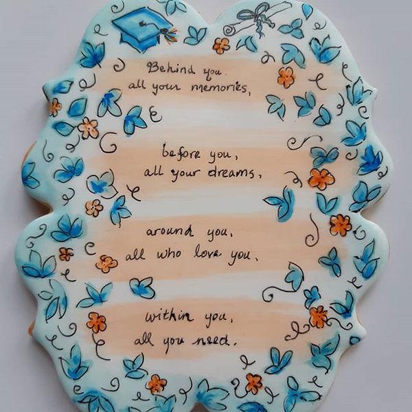 Graduation cookie cards! Yummy ways to m