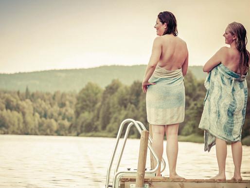 Das erste Mal - Echt finnische Sauna