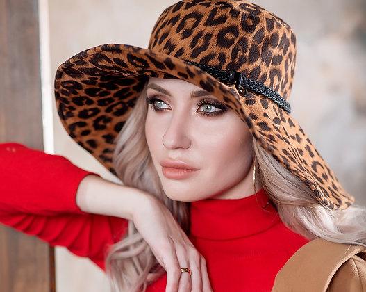 Level Pro / Шляпа леопард