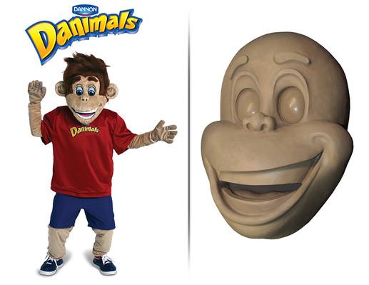 Sculpted mascot