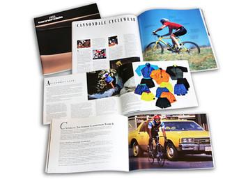 Catalog layout & production